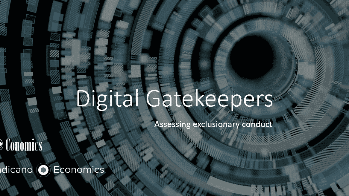Competition policy and Digital Gatekeepers: exclusionary conduct