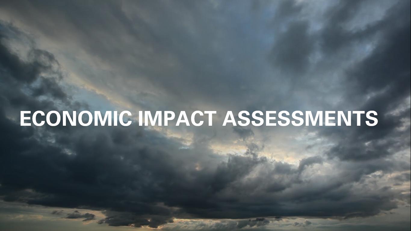 economic impact assessments